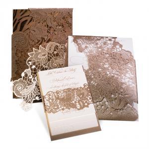 Wedding Invitation Wrap - Alexandra & John
