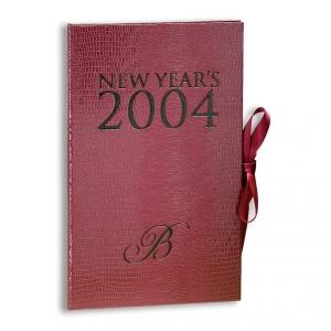 Bellagio 2004 New Years Eve Invitation